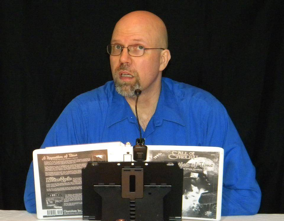 GM Andre Kruppa at Council of Five Nations adventure gaming convention