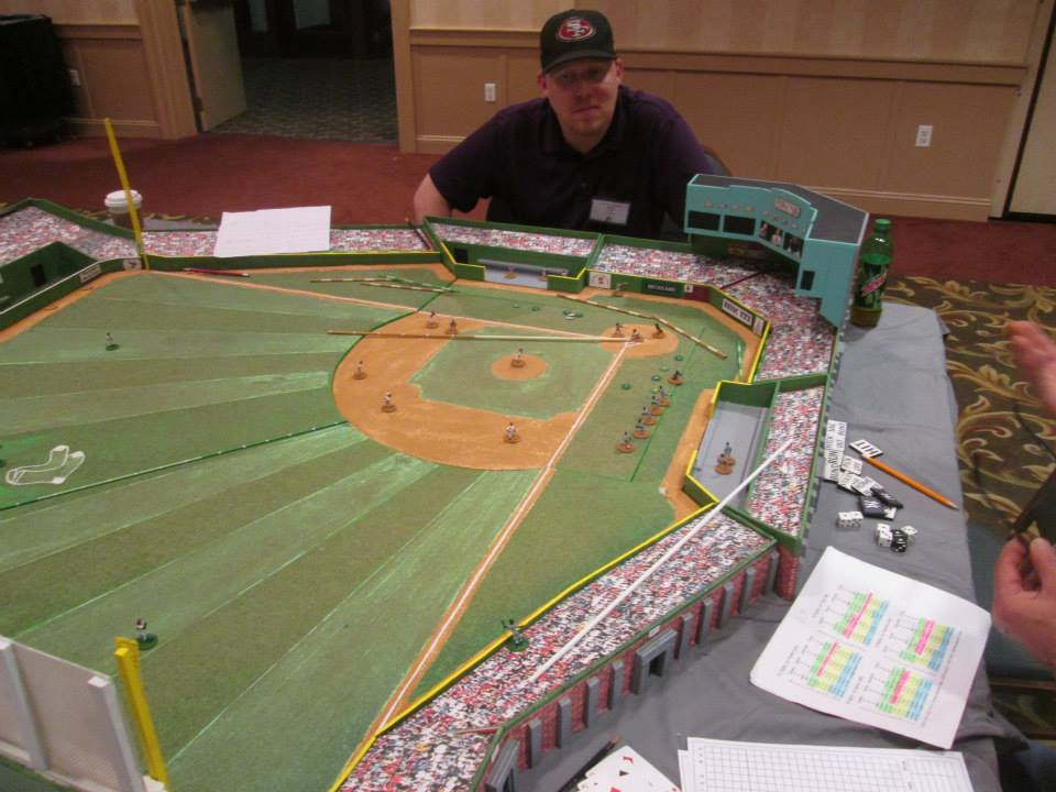 Fenway Park in Miniature - 1986 World Series