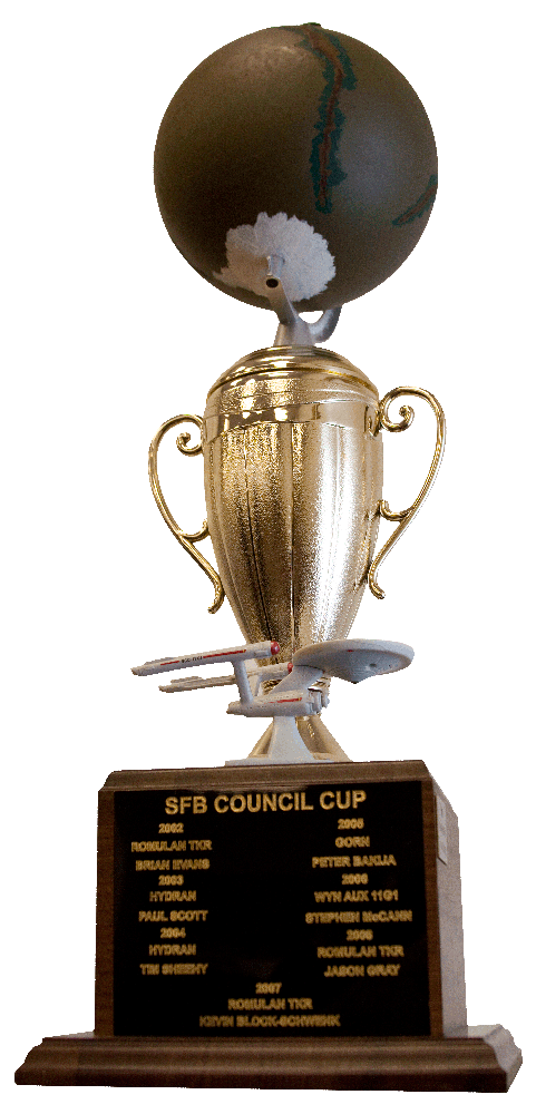 The Council Cup - Star Fleet Battles Trophy