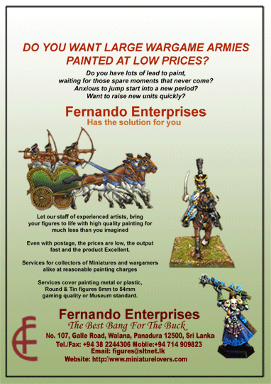 Fernando Enterprises - Miniatures Painting Service