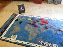 Quartermaster General at Council of Five Nations adventure gaming convention