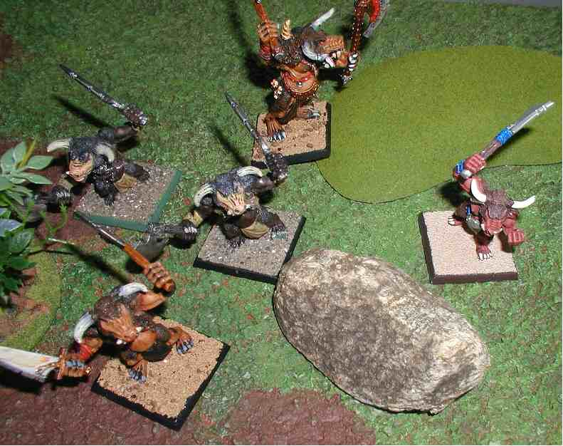 Song of Blades and Heroes - Minotaur Warband