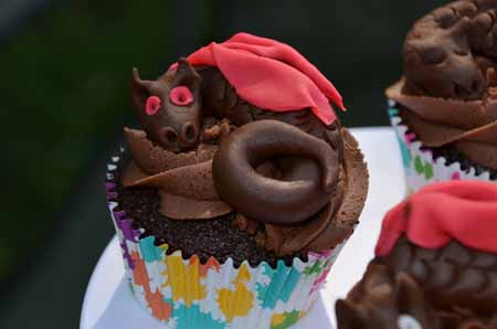Quigley's Cakes - Dragon Cupcake at Council of Five Nations 36