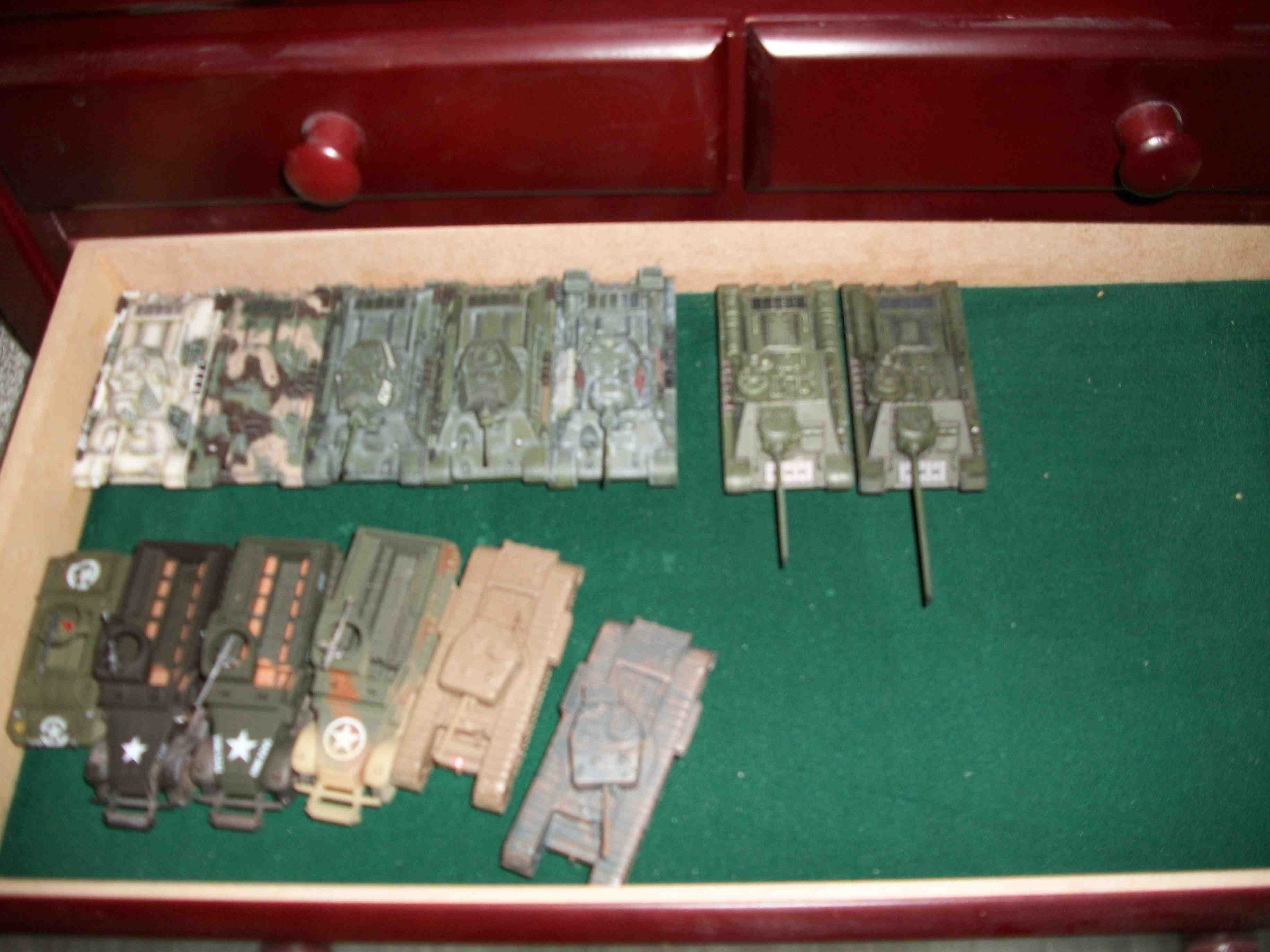 Painted 20mm WW2 Armor